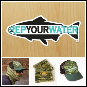 All the RepYourWater gear going to blog subscriber Debra Wright.