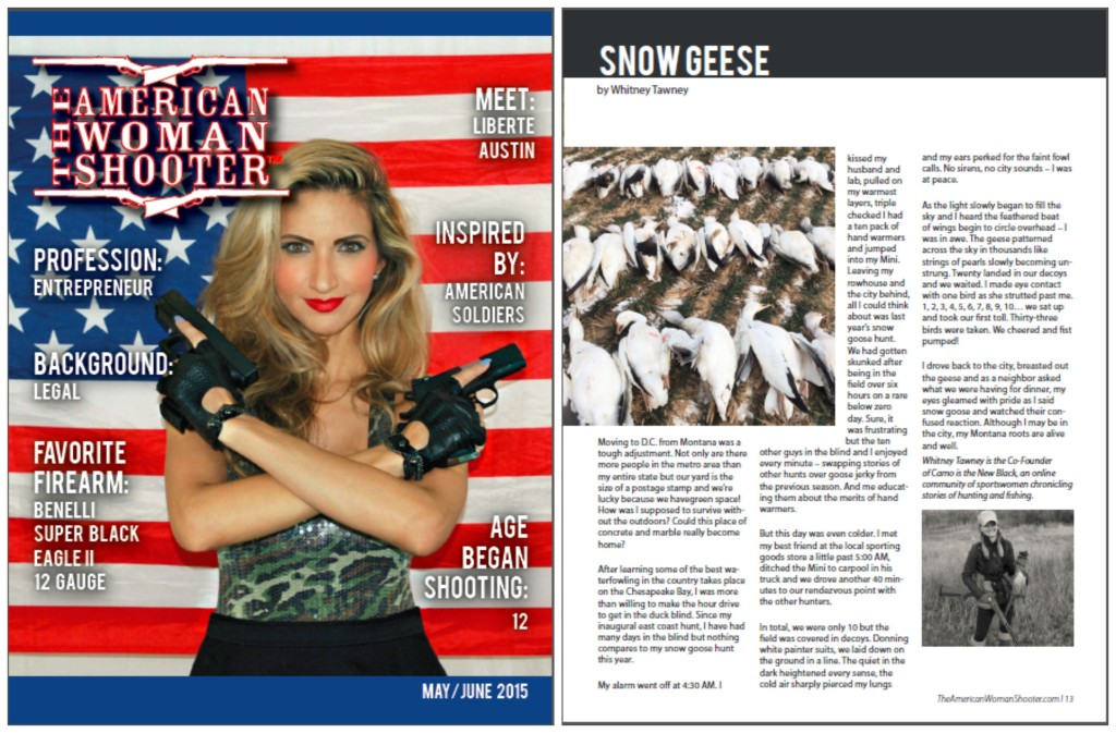 The American Woman Shooter MayJune 2015