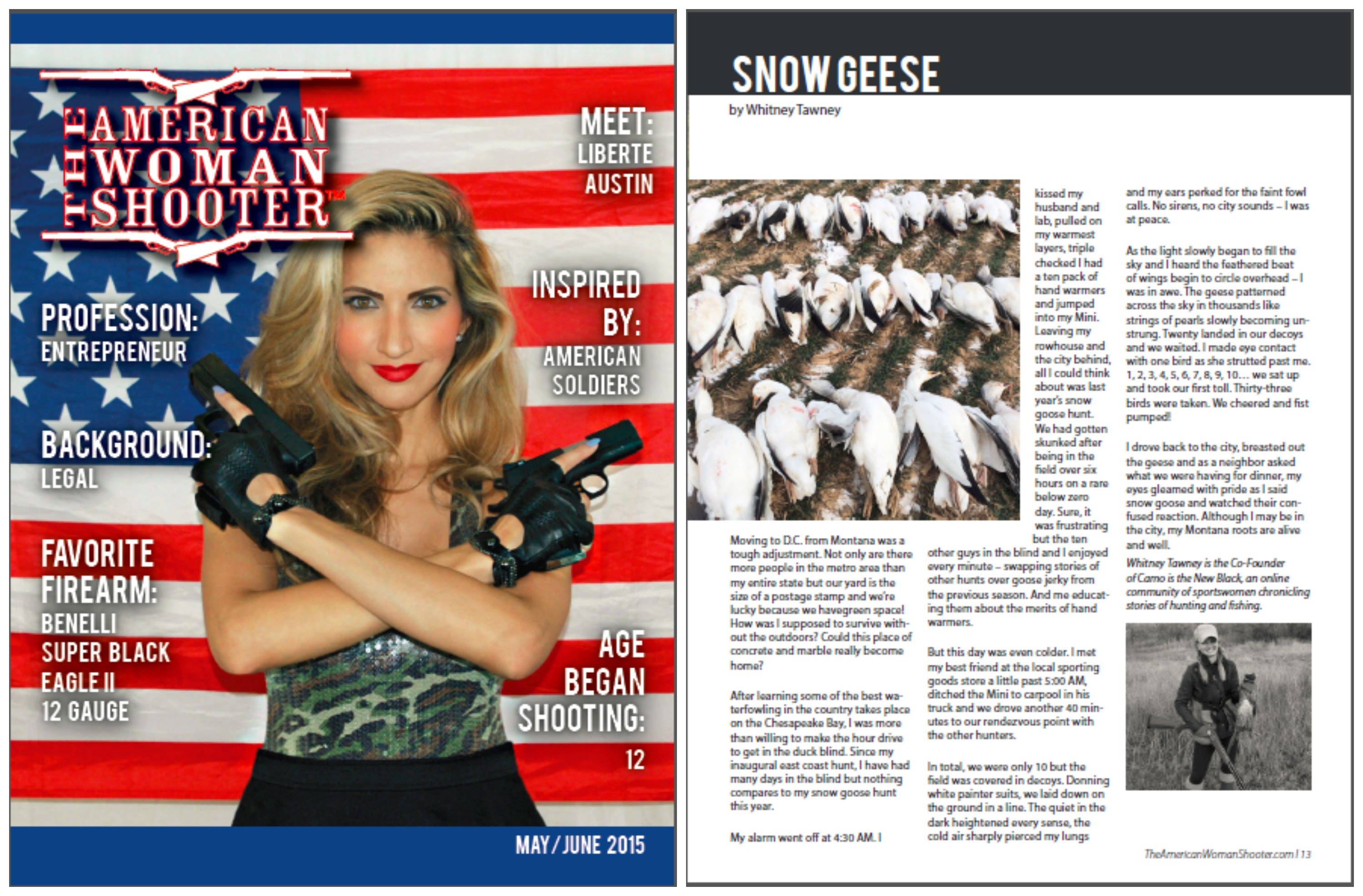 The American Woman Shooter May/June 2015