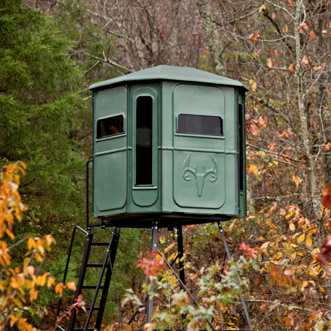 A Deer Blind from Redneck Blinds