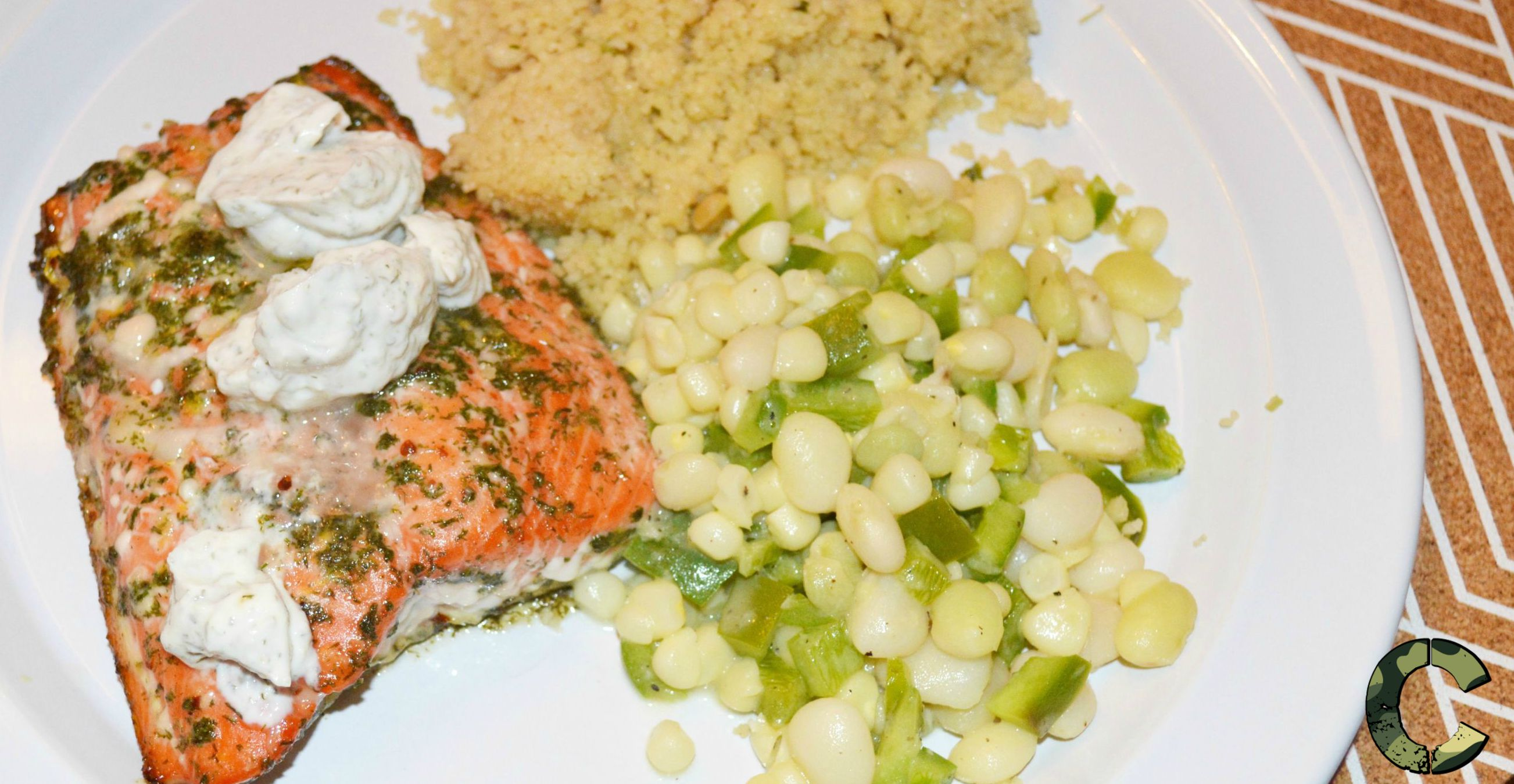 Lemon and dill salmon 2
