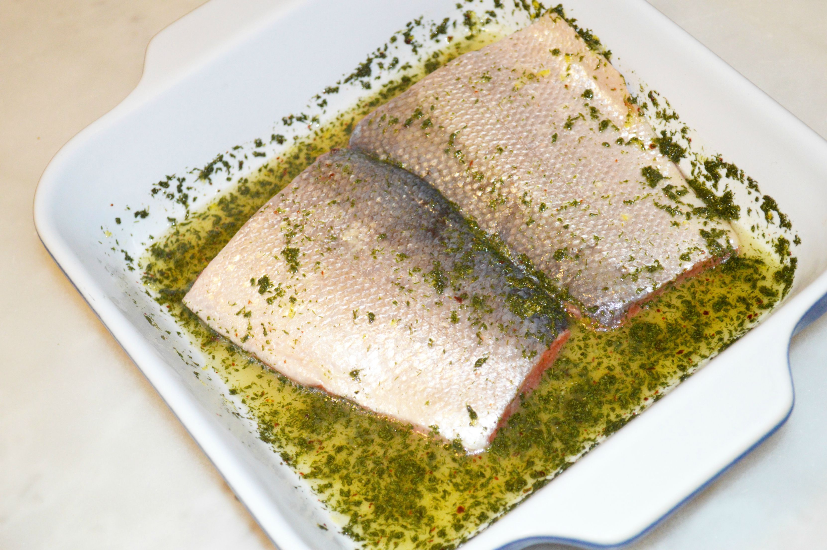 Lemon and dill salmon 3